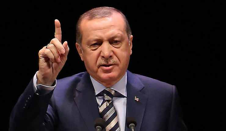 "Erdogan and ""good relations"" with Israel"