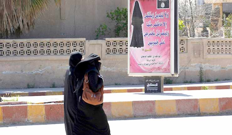 As IS loses power, will group tap women jihadis to fight?