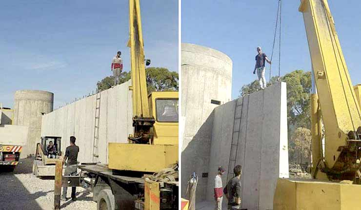 Lebanon begins building 'security wall' around Palestinian refugee camp