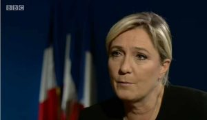 """Marie Le Pen - Leader of """"National Front"""""""