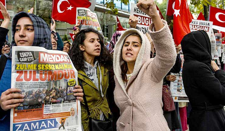 EU's Cowardice Shows Lack Of Support For Press Freedom In Turkey