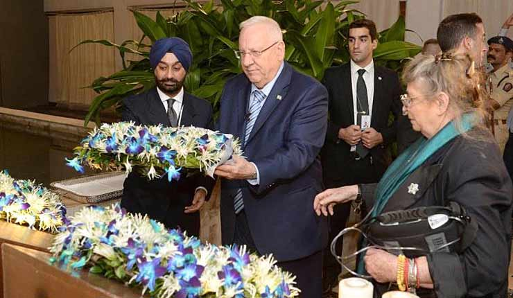 President Rivlin: India won't let anyone threaten Israel's right to exist