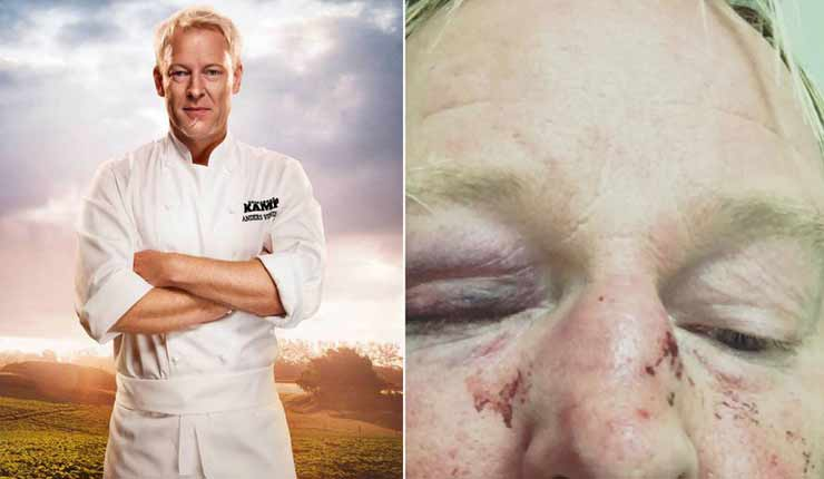 "Swedish TV chef brutally beaten by ""Muslim men"" because he ""looked like Mr. Trump"""