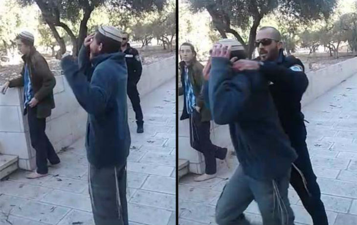 [Video] Jerusalem : Police Arrest Jewish Man for Saying Sh'ma Israel