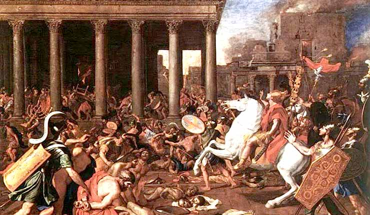 The Barbarians Who Sacked Rome Came Into the Empire as Refugees
