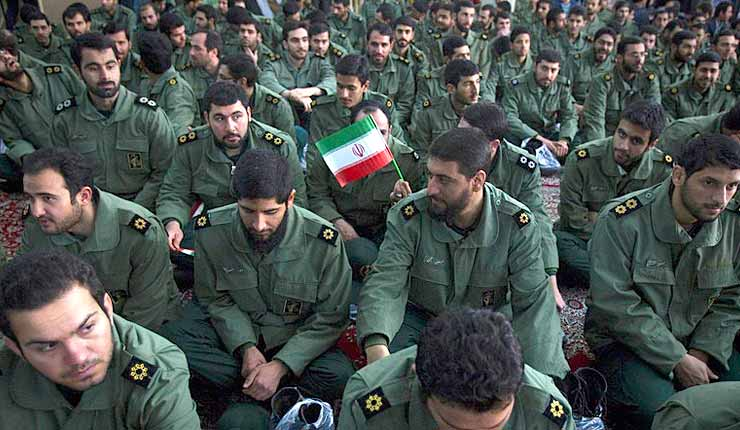 iranian-troops