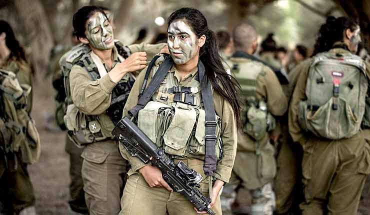 Female bad-ass IDF officer fights off 23 terrorists during a surprise attack