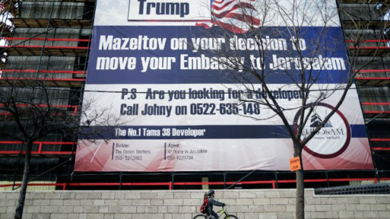 Donald Trump 'to announce US embassy will move from Tel Aviv to Jerusalem on Monday'
