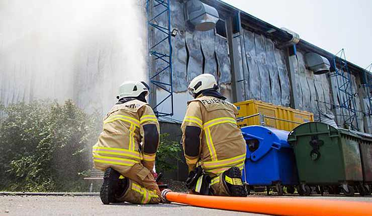 Refugee in court accused of fire at asylum center following a row over Ramadan meals