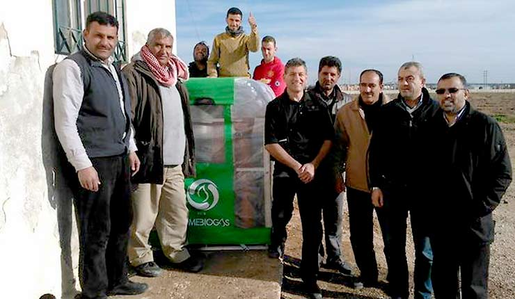 "Israeli ""Green-tech"" helps Syrian refugees regain normalcy"