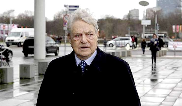 Hungarian Foreign Minister Accuses Soros Of Seeking To Bring Down His Government