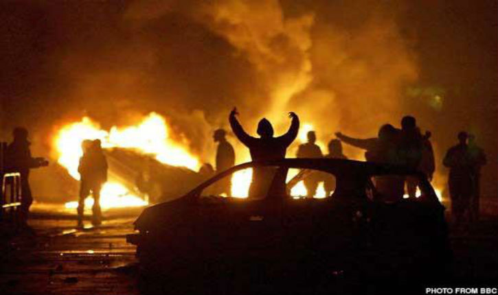 [Video, Photos] PARIS BURNING Chaos as rioters torch vehicles and attack cops in protest over alleged rape of black youth in police custody