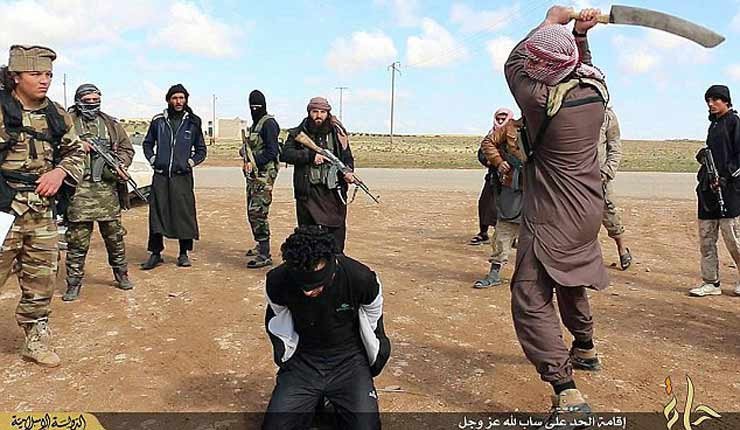 ISIS CANNIBALS: Terror group are teaching their fighters to EAT non-Muslims