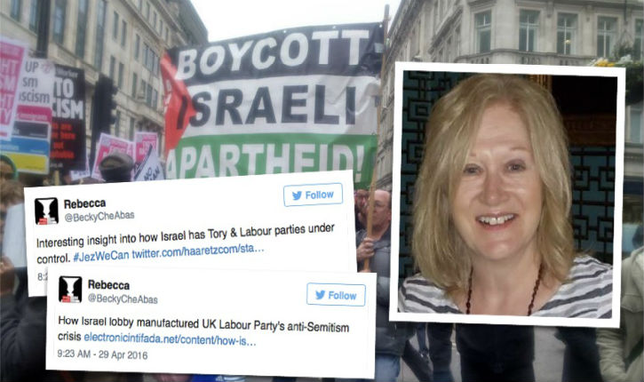 UK : Labour official accused of anti-Semitic tweets