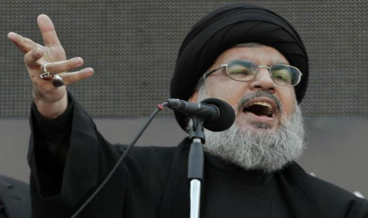 Hezbollah Chief Threatens to Attack Israeli Nuclear Reactor