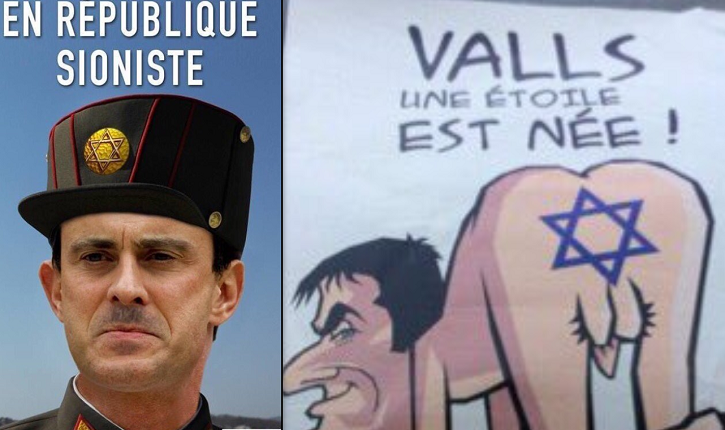 Antisemitism was the key factor to defeat ex 1PM Manuel Valls in the French presidential race