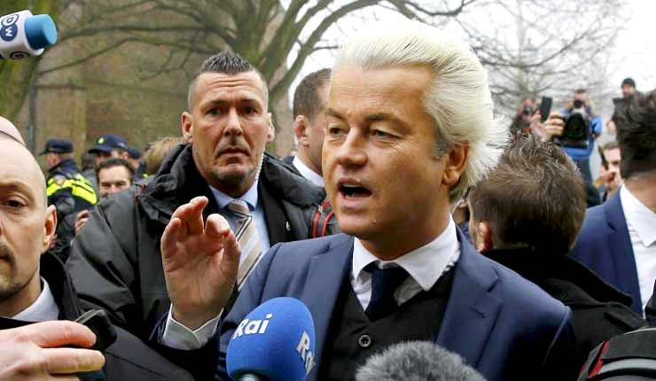 "Possible mole with ""Moroccan background"" in security detail of Dutch frontrunner Wilders"