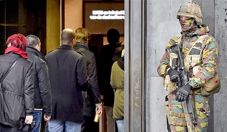 Report: Brussels Neighborhood Is Home To 51 Terror-Linked Groups