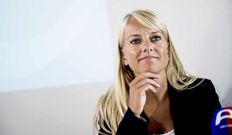 Denmark's right-wing anti-migrant leader Pernille Vermund 'polling well ahead of election'