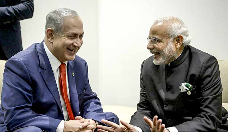 Change of policy? Indian PM Modi will visit Israel, but skip Palestine