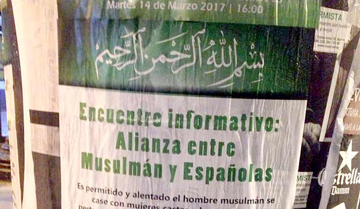 Spain: Muslims call for marriage to Christian women to strengthen Islam
