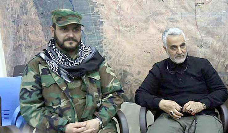 Iranian backed militia forms Golan liberation brigade