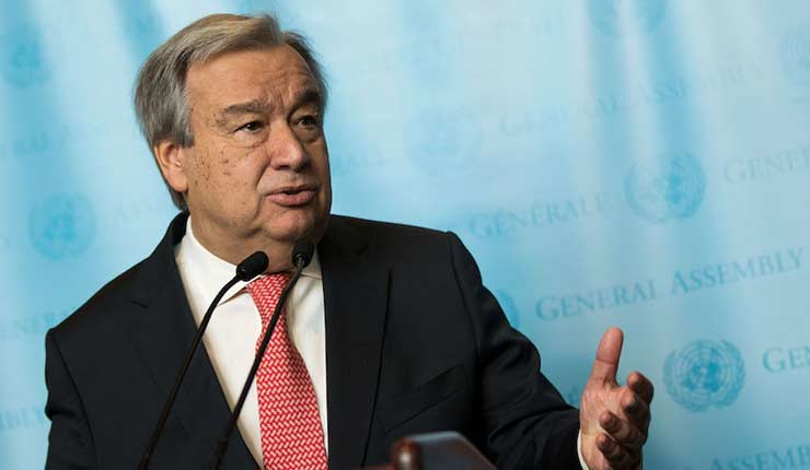 UN secretary-general: Denial of Israel's right to exist is 'modern form of anti-Semitism'