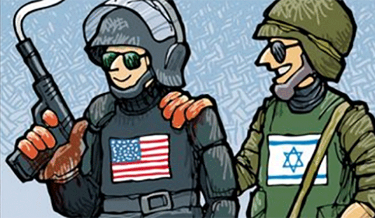 New campus blood libel: Israel responsible for U.S. police shootings of blacks
