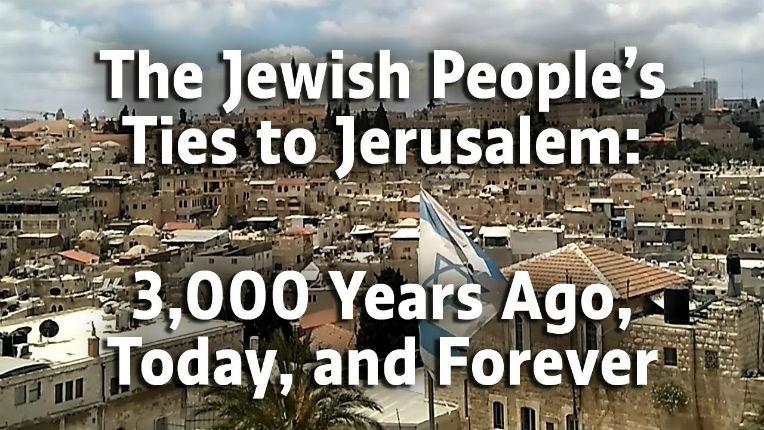 Jerusalem and the jewish people